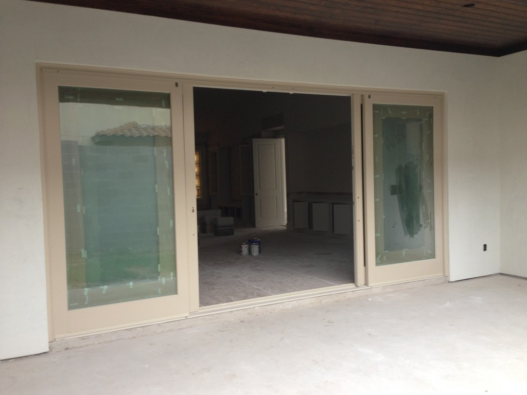 What 39 s your wonderful patio door robinson builders for Sliding door in french