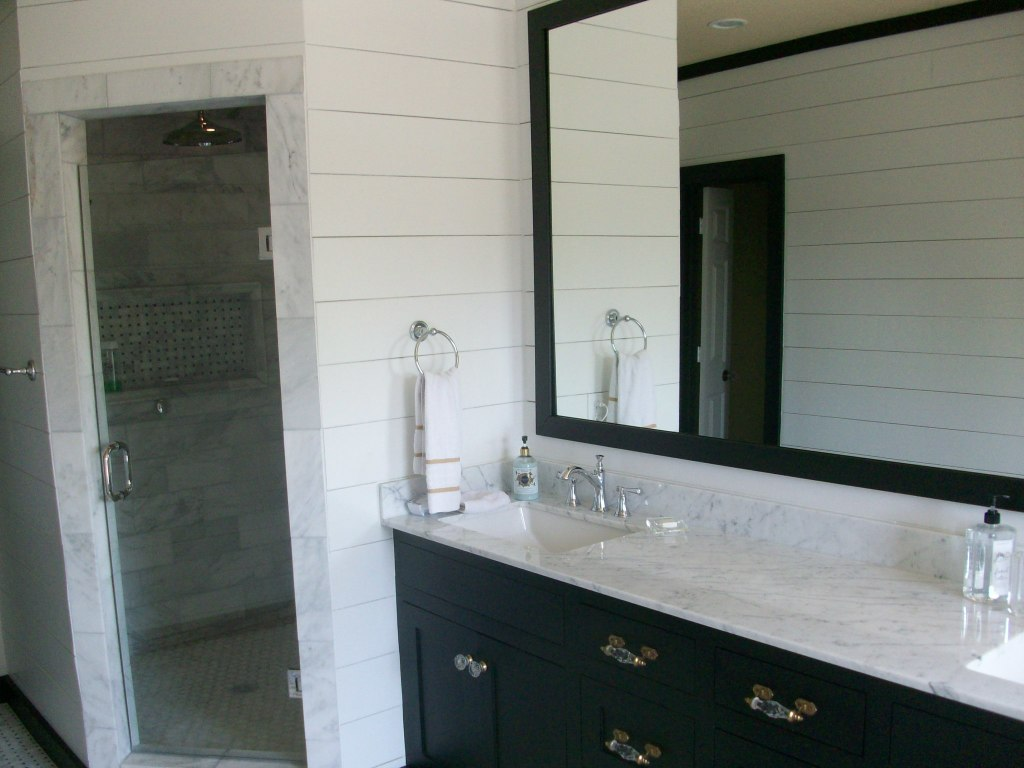 walk-in shower bathroom remodeling