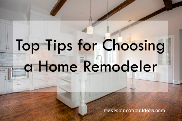 choosing a home remodeler fort worth