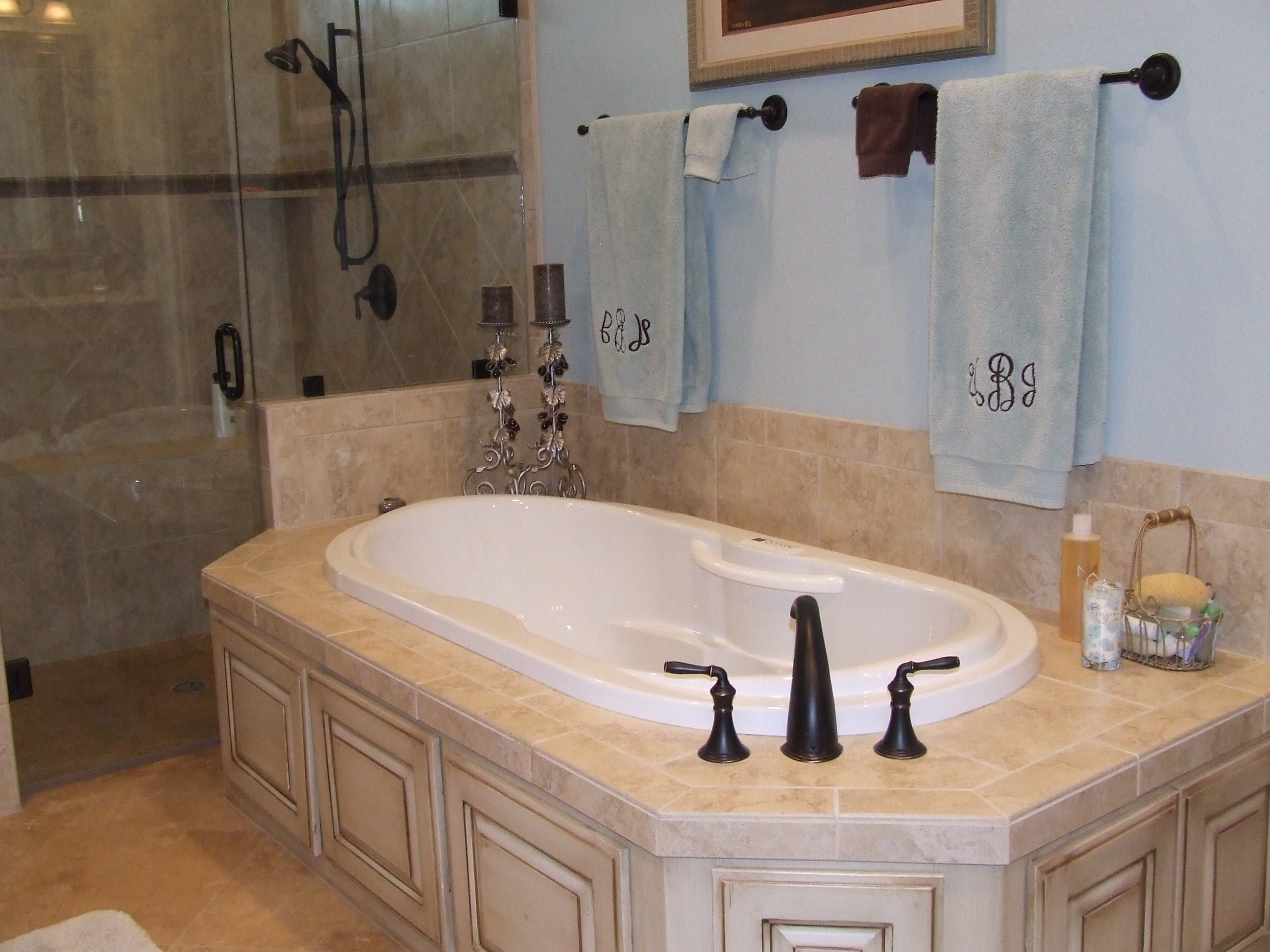 Bathroom remodeling in fort worth texas with robinson for Bath remodel fort worth