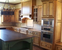 Raised-panel Cabinetry