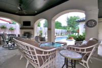 Arched Patio